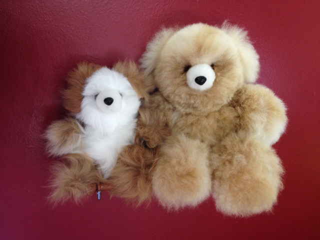 alpaca fur teddies